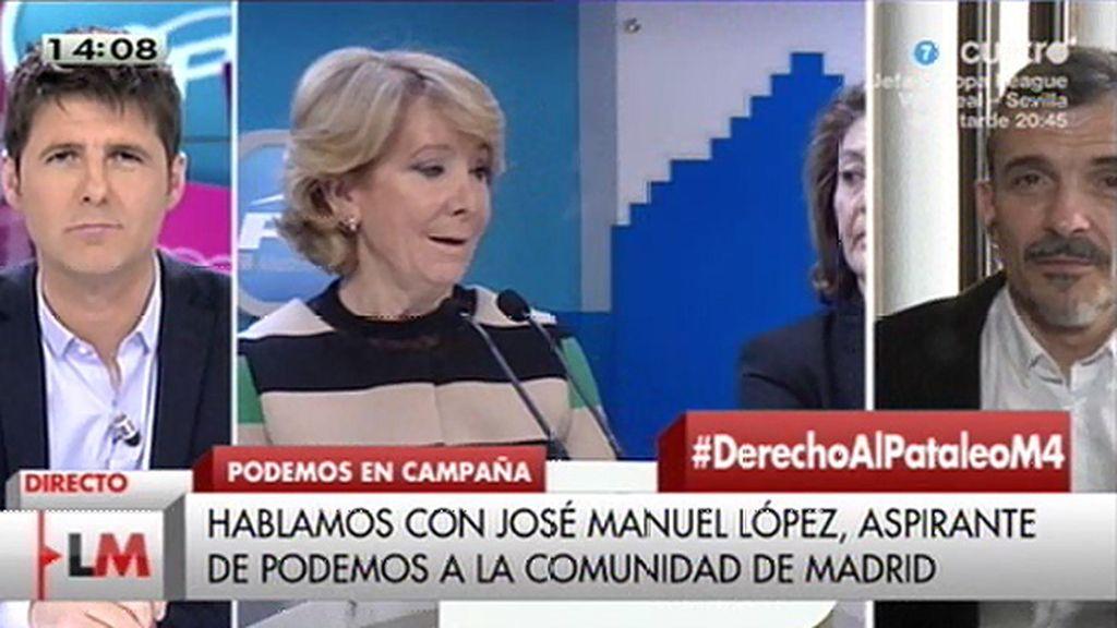 """José Manuel López: """"El pacto de Podemos es con la ciudadanía"""""""