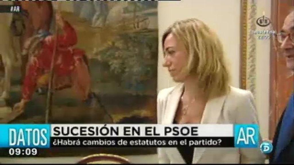 Chacón no será candidata a la secretaría general del PSOE