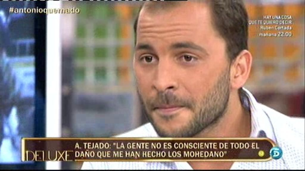 """Antonio Tejado: """"La gente no es consciente del daño que me han hecho los Mohedano"""""""
