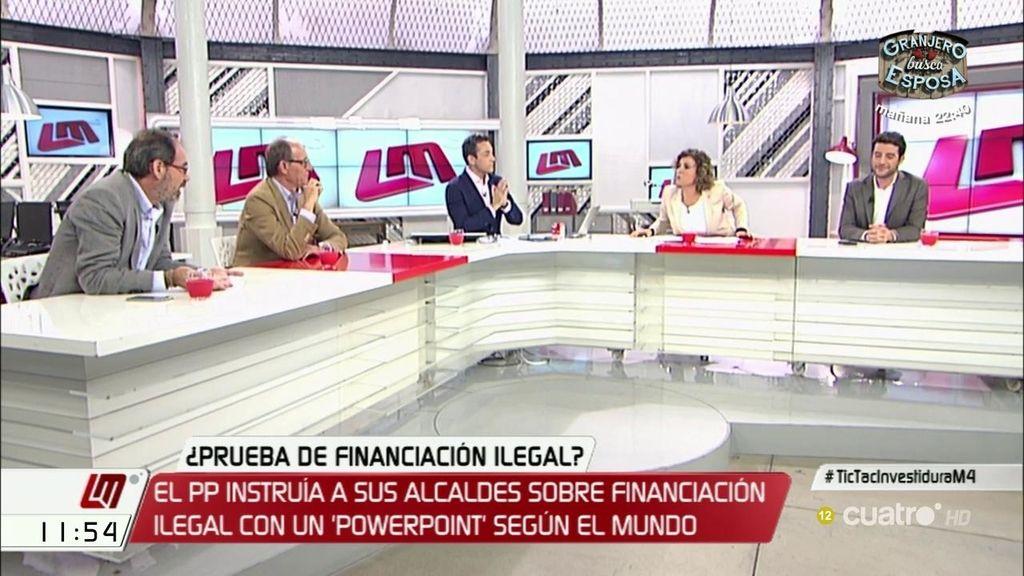 """D. Montserrat (PP): """"Aprovecháis cualquier cosa para atacar al PP cuando es el único que vela por el interés general"""""""