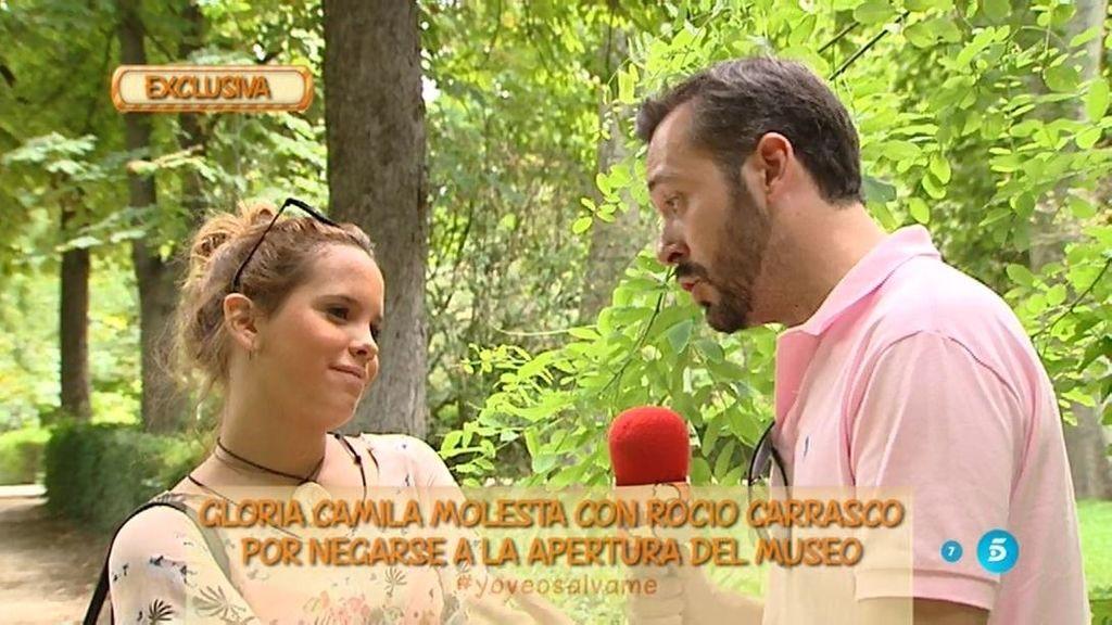 """Gloria Camila, de Rociíto: """"Si es su madre y tanto la quiere debería de abrir ya el museo"""""""