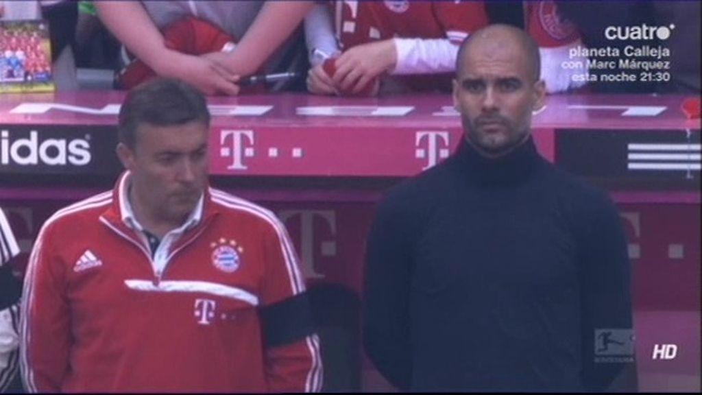 """Guardiola gana su partido más triste: """"Esta tristeza me acompañará siempre"""""""