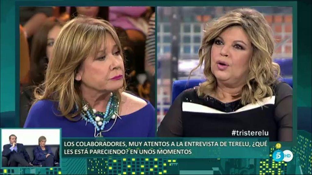 """Terelu: """"Las Campos no vamos arrasando con todo el mundo como dicen, todo lo contrario"""""""