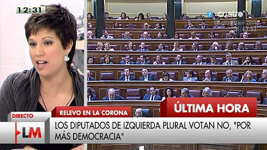 """Beatriz Talegón: """"Es una vergüenza lo que nos han hecho hoy a la militancia socialista"""""""