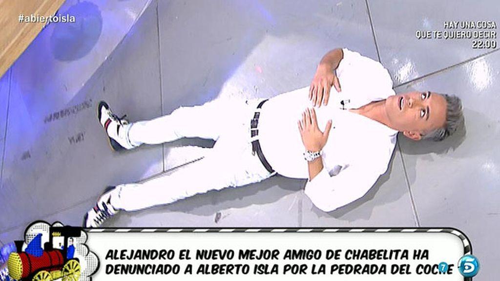 """Alejandro, a 'Sálvame': """"Todo lo que ha contado Kiko Hernández es mentira"""""""