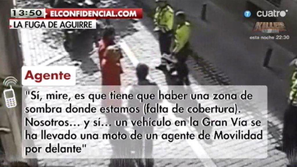 """""""Hemos denunciado a doña Esperanza Aguirre, se nos ha dado a la fuga"""""""