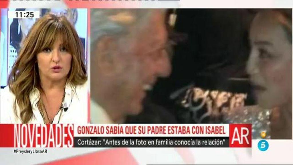 Gonzalo Vargas Llosa conocía la relación de su padre con Isabel Preysler