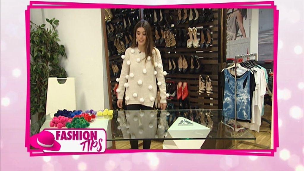 'Fashion tips': Recicla ropa y customiza una falda o un jersey a la última