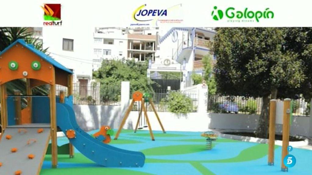 Un parque infantil nuevo para Tolox