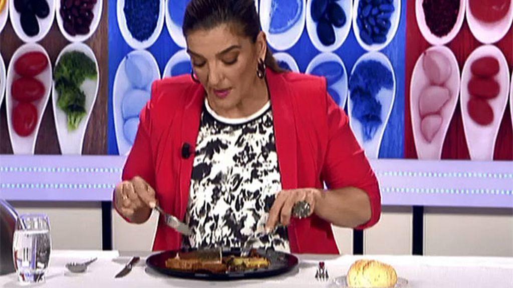 """María Jiménez Latorre, sobre el plato de Montse: """"Ajoarriero no es"""""""
