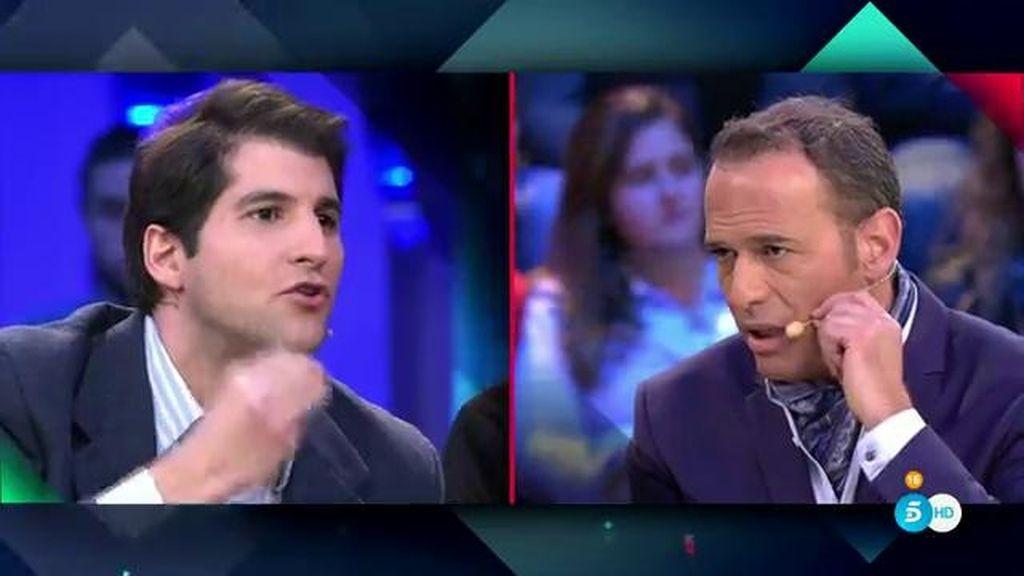 Carlos Lozano y Julián Contreras intentan aclarar el malentendido con el alcohol