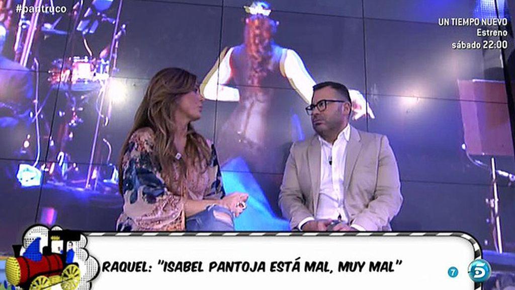 """Raquel Bollo, sobre Isabel Pantoja: """"Ahora mismo no hay ánimos para ella"""""""