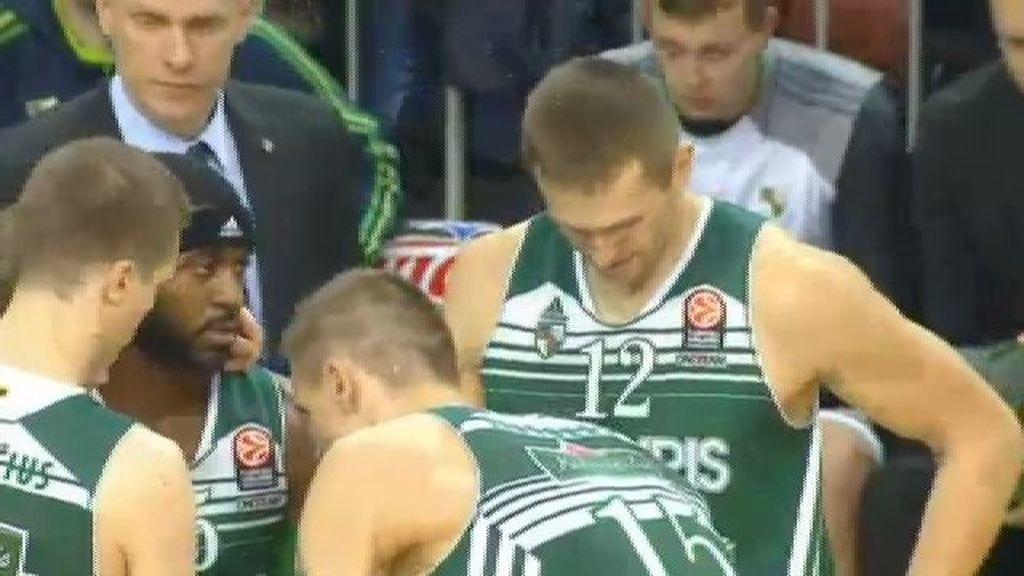 El CSKA de Moscú no perdona y vence al Zalgiris por (86-88)
