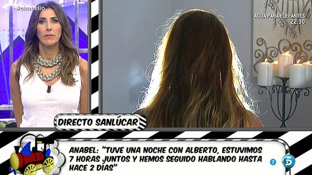 """Anabel, la amiga de Alberto Isla: """"Se ha enterado de mi retraso por la televisión"""""""