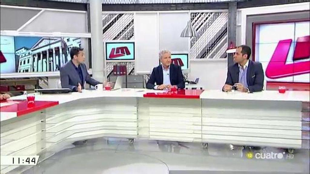 """Ignacio Aguado (C's): """"Nuestro objetivo no es ser los presidentes del Congreso"""""""
