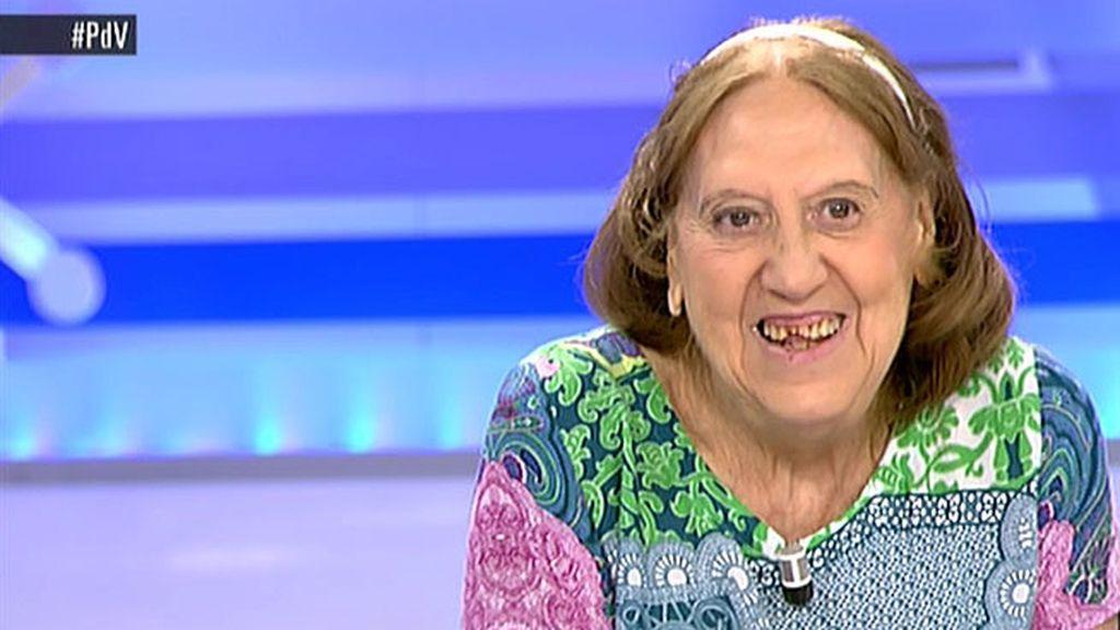 Carmen tiene 75 años y quiere trabajar para poder pagar el alquiler y los suministros