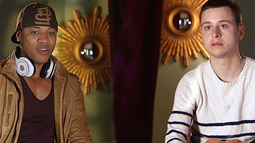 Daniel Iglesias y Álex Hilton, eliminados por los asesores de la princesa Laura