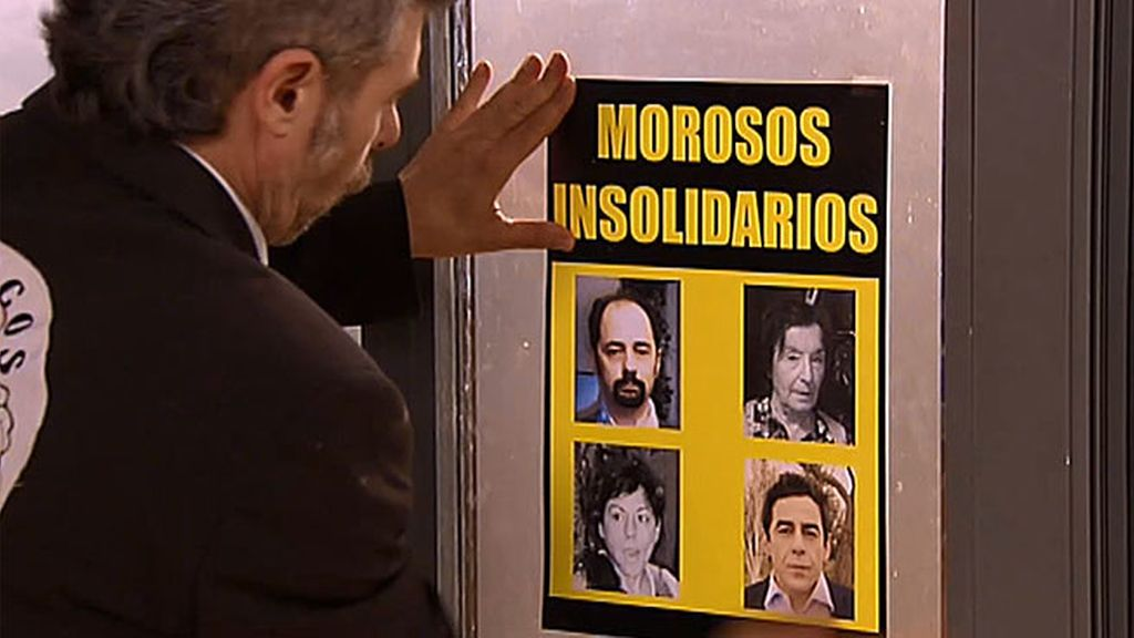 Estos son los morosos insolidarios de Montepinar: Antonio, Nines, Amador y Fina