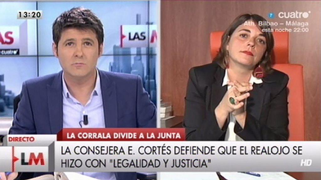 """E. Cortés: """"Este Gobierno está haciendo bien las cosas y se pueden hacer mucho mejor"""""""