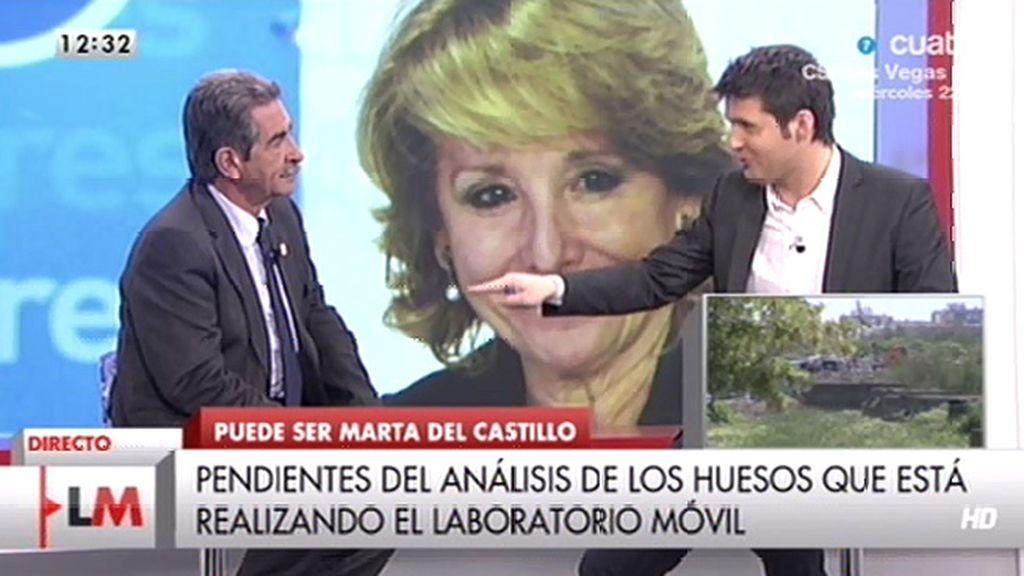 """Revilla, sobre Aguirre: """"Creo que es una señora de una soberbia casi genética"""""""