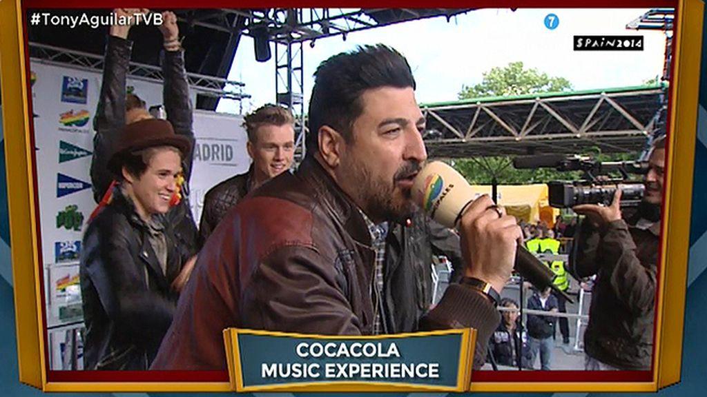 'Coca-Cola Music Experience', el programa de Tony Aguilar, en Cuatro