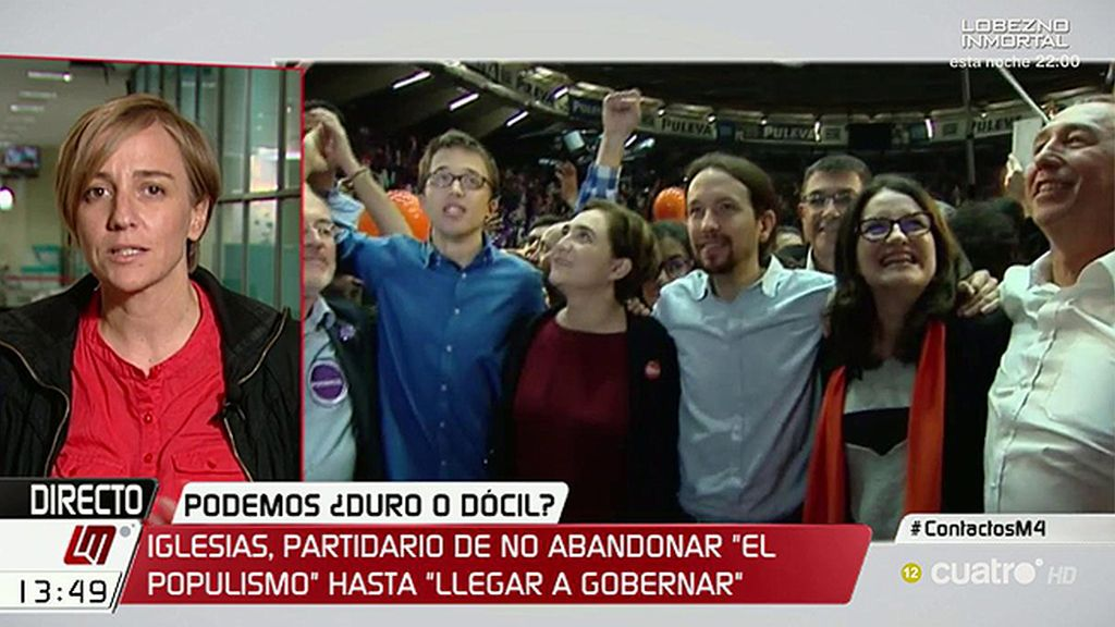 """Tania Sánchez: """"No hay dos Podemos, hay tantos como militantes tiene el partido"""""""