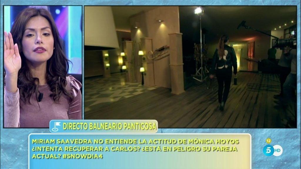 ¡Mónica Hoyos se va de plató! La tensión con Carlos y Miriam le hace explotar
