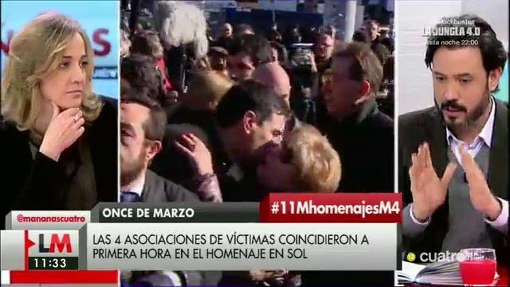 """Guillermo Mariscal, sobre el 11-M: """"Buscar distancias aquí es, a mi juicio, irresponsable"""""""