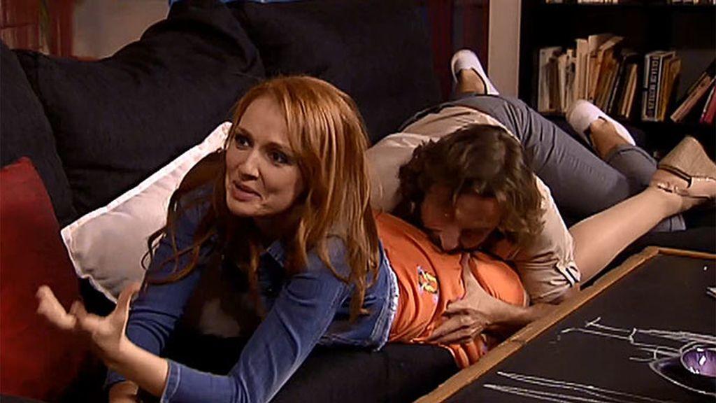 El novio de Celia se siente atraído por Judith