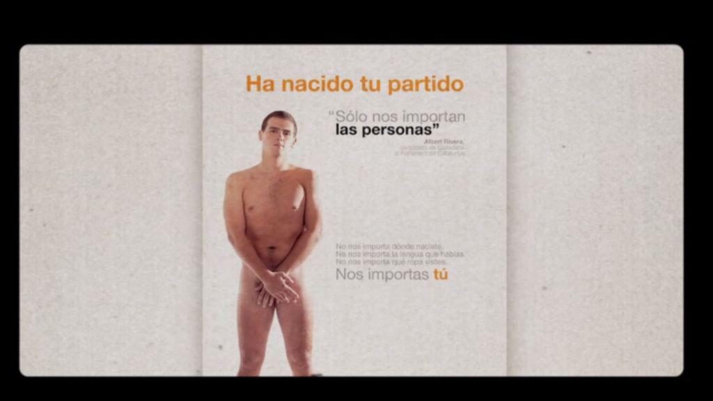 """Albert Rivera: """"Volvería a desnudarme en aquellas circunstancias, hoy no tiene sentido"""""""