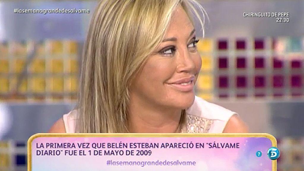 """Belén Esteban, agradecida: """"Sálvame' me ha hecho una mujer nueva"""""""