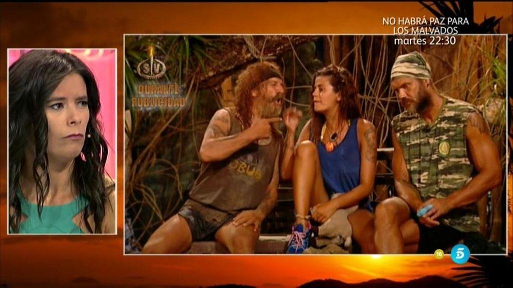 Imágenes inéditas: Fortu y Lola se insultan durante la publicidad de la gala 11