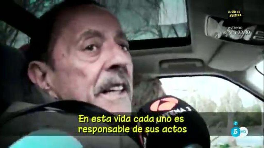 El regreso de Julián Muñoz a la cárcel tras su fin de semana en familia
