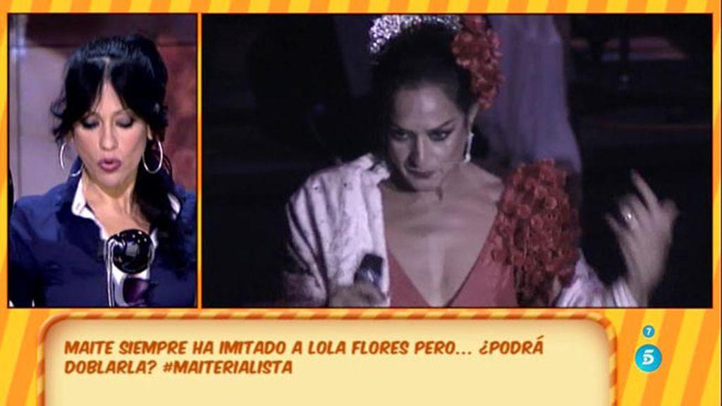 Maite Galdeano es una estrella del doblaje