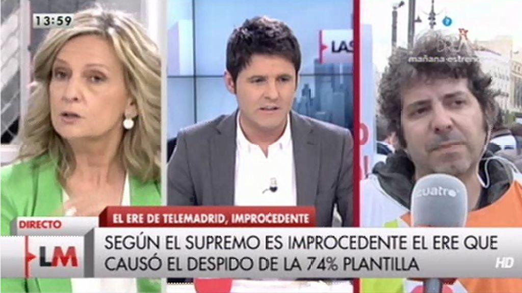 """Jesús Cintora, sobre Telemadrid: """"Es una televisión pública manipulada"""""""