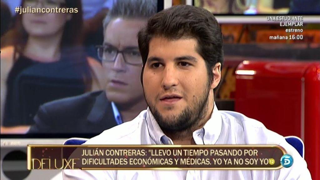 """Julián Contreras: """"He podido dejar más de 50 mil euros a gente que ni siquiera conocía"""""""