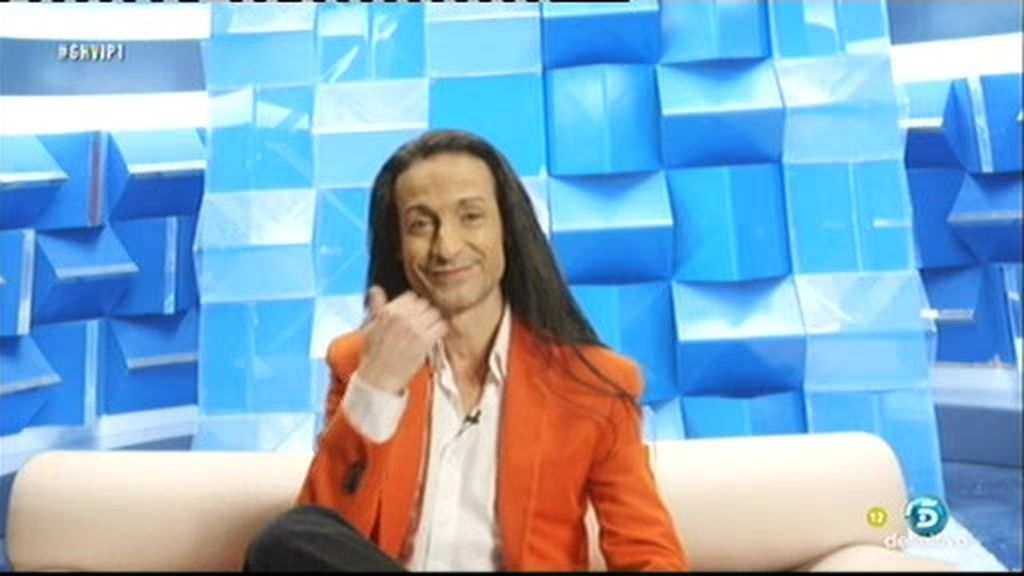 "Sandro Rey: ""Una mujer rubia va a llegar a la final de 'GH VIP"""