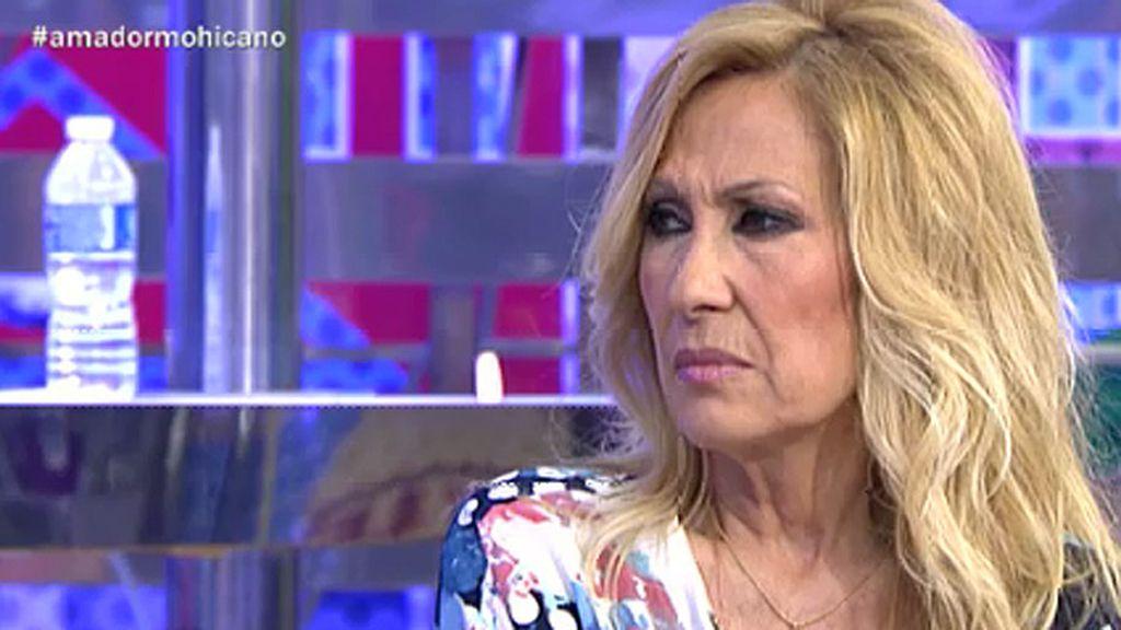 """Rosa Benito, sobre Amador: """"Sé que esto me va  a salpicar, pero no quiero que me pueda"""""""