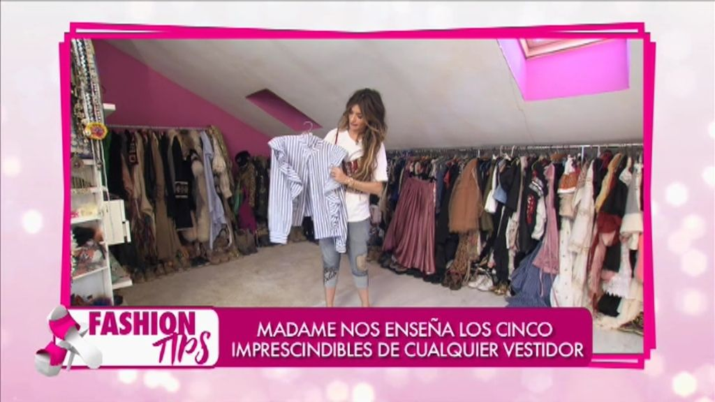 'Fashion tips': Madame nos enseña los cinco imprescindibles de cualquier vestidor
