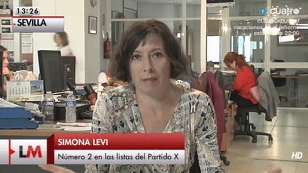 """Simona Levi: """"Se trata de crear cauces con los que los ciudadanos podamos intervenir"""""""