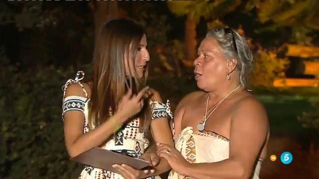 """Carmen Gahona: """"La única estratega que hay es Yasmina"""""""