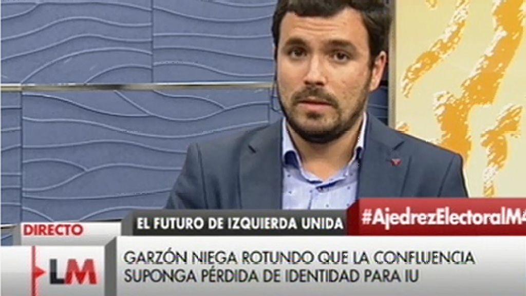 """Alberto Garzón: """"La desaparición de IU no está puesta en tela de juicio"""""""