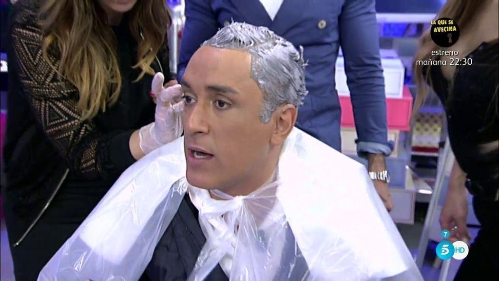 ¿Cómo se habrá quedado Kiko Hernández tras el cambio en su pelo?