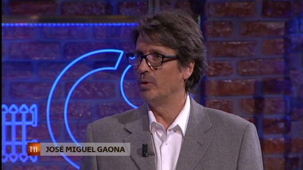 """J. M. Gaona: """"Admiramos a gente en las redes sociales que no sabemos si existen"""""""