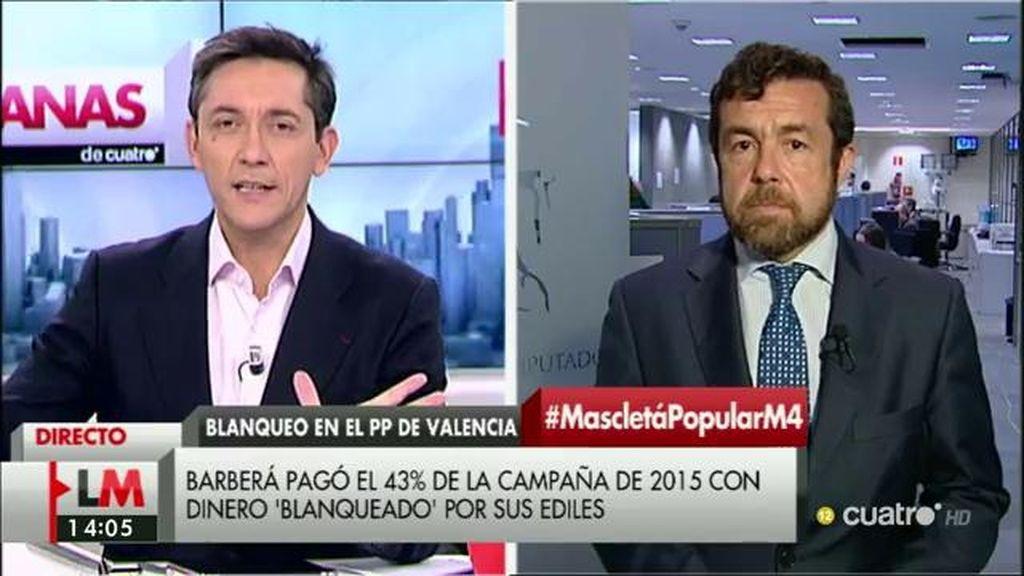 """M. Gutiérrez: """"Parece que Rajoy está en la fase de no sé nada y además no hago nada"""""""
