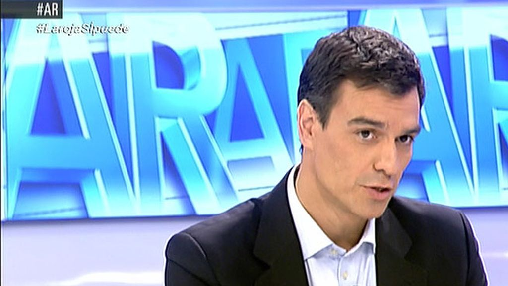 """Pedro Sánchez: """"Pido regenaración, transparencia y ejemplaridad de la Casa Real"""""""