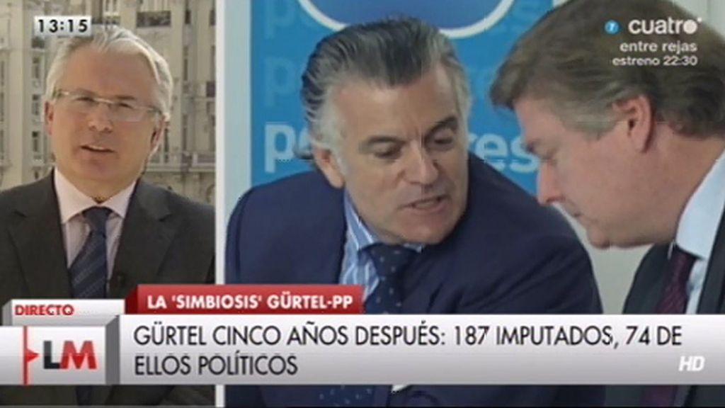 """Garzón: """"No me siento víctima de ninguna trama pero hubo un interés muy claro"""""""