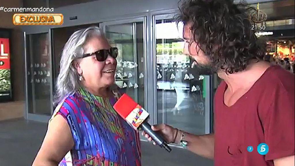 """Gahona elude la polémica: """"Estoy de moda"""""""
