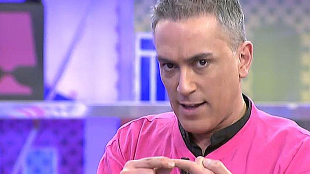"""Kiko: """"El reprensentante de Israel pidió que fuese peinado de forma muy varonil"""""""