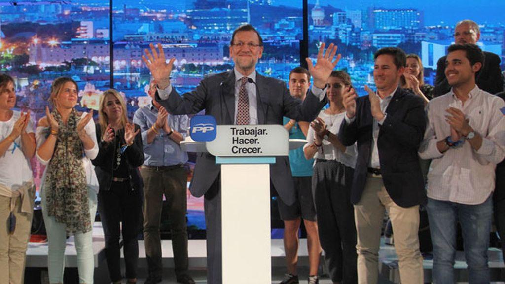 """Rajoy: El Ayuntamiento de Barcelona no puede """"defender posiciones independentistas"""""""